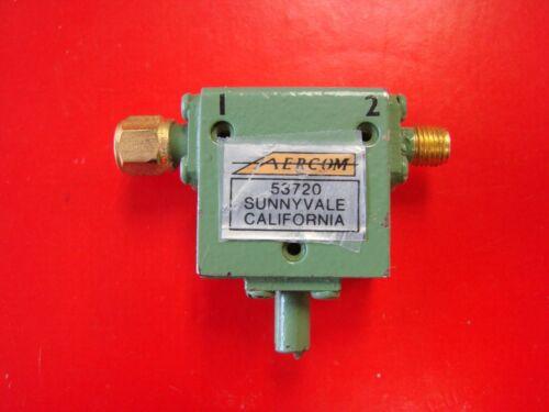 AERCOM 4-8GHz Isolator Model AER0286, SMA