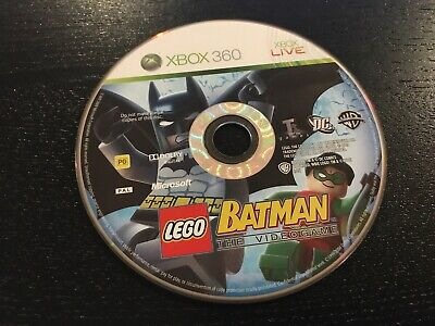 DISC ONLY XBOX 360 - LEGO Batman: The Videogame