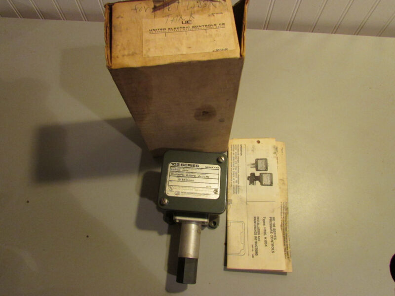 United Electric Controls 105 Series Pressure Controller Type H150 Model 611