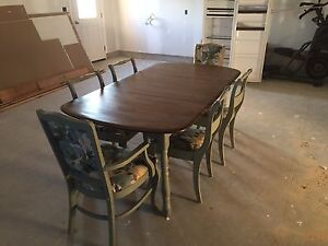 REDUCED Refinished Table & Chairs