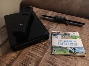 Wii with Wii sports