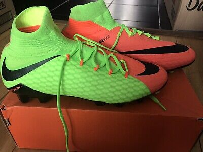 Nike HYPERVENOM MEN's FOOTBALL BOOTS SIZE 8 UK