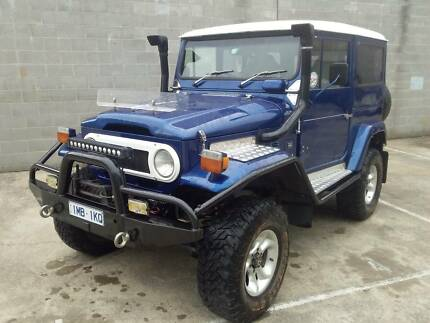 Toyota FJ40 Ringwood Maroondah Area Preview