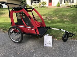Charriot pour bicyclette/poussette - Bicycle Trailer/Stroller