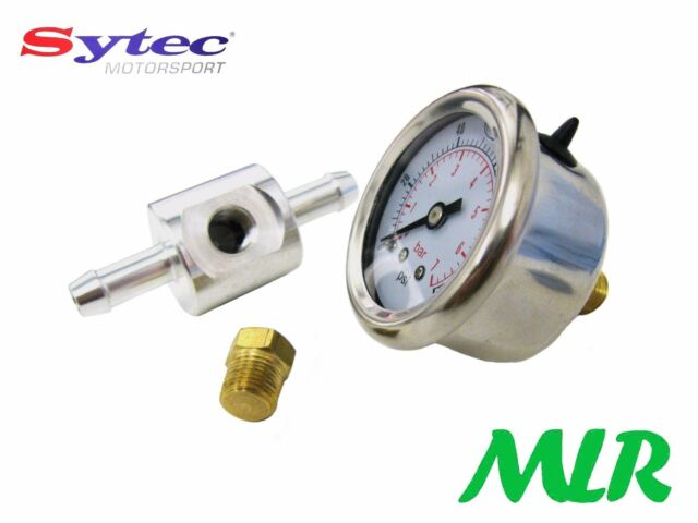 FUEL PRESSURE GAUGE & ADAPTOR FOR INJECTION TURBO SYSTEMS COSWORTH / IMPREZA WP