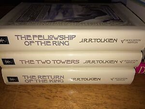 Lord of the Rings 3 book set