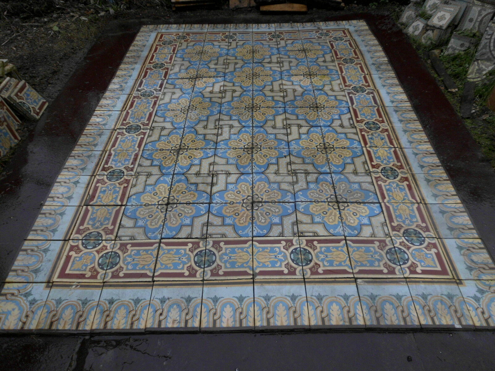 Carrelage ancien eur 2 00 picclick be for Ancien carrelage