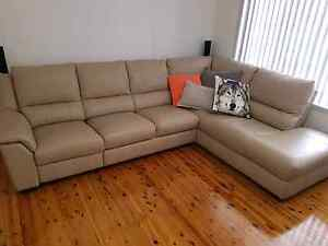 Huge Nick Scali Leather Couch - sold pending pick up Charlestown Lake Macquarie Area Preview