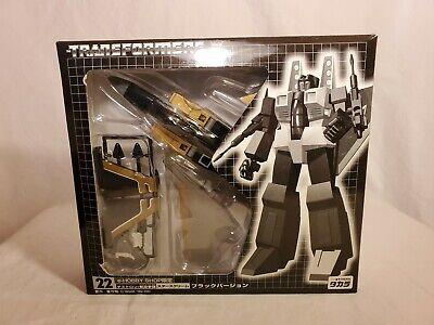 Transformers BLACK STARSCREAM Ehobby MISB NEW Takara Exclusive G1 E-Hobby 2001