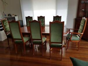Dining Table Extendable 10 Chairs