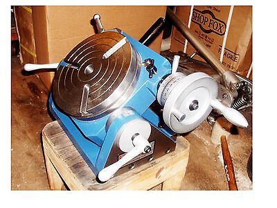 Accuravertex Atrt-008 8 Inch Tilting Rotary Table-high Quality New In Box