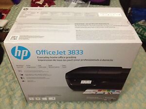 HP OfficeJet 3833 Wireless Print Fax Scan Copy Printer New