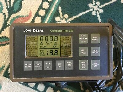 John Deere Computer Trak 350. Planter Monitor. Nice Unit Ready To Go.