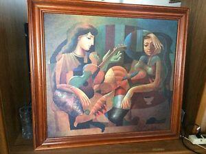 Reproduction sur toile du célèbre peintre   Oleg