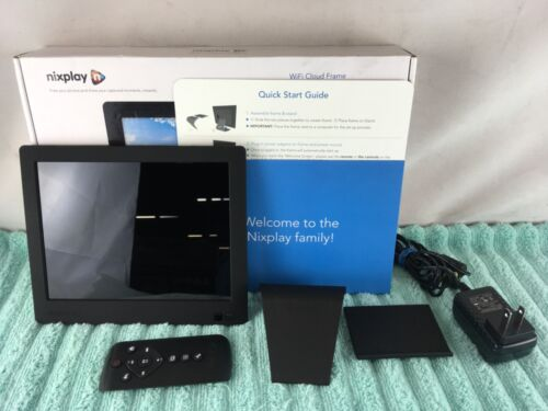 Nixplay Edge 8-inch Wifi Cloud Photo Frame With Stand, 1024 X 768 Pixels - USED