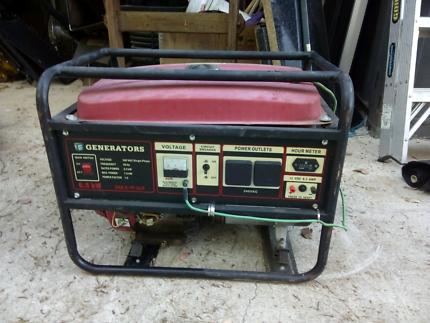Generator   - 6.5 kW