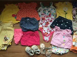 3-6 month summer clothes  Cambridge Kitchener Area image 1