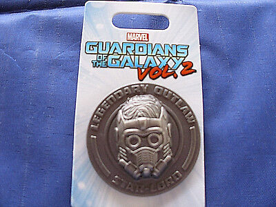 Disney * MARVEL - STARLORD - GUARDIANS GALAXY * New on Card Trading Pin