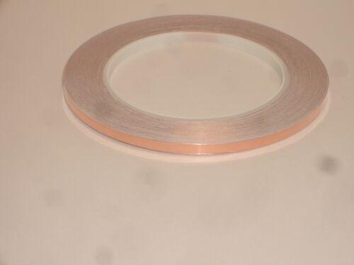 """MPJ 34181MI 5mm 0.2"""" COPPER FOIL PRINTED CIRCUIT BOARD PCB REPAIR TAPE"""