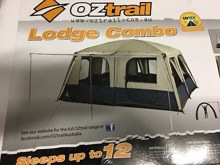 Tent Oztrail lodge combo sleeps up to 12 & OzTrail Lodge Done. Tent | Camping u0026 Hiking | Gumtree Australia ...
