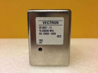 Vectron 281007-11 10.000 Mhz Precision Quartz Crystal Oscillator. Tested