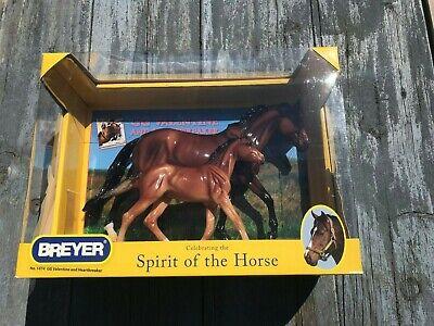 BREYER GLOSSY GG VALENTINE HEARTBREAKER 1474 SPIRIT OF THE HORSE NIB