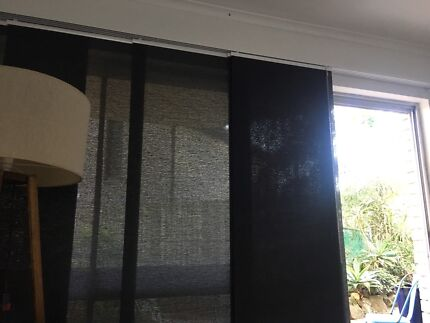 FREE panel glider blinds top rail only