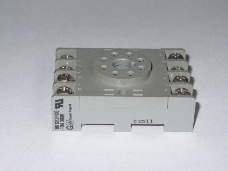 Eagle 60 SR2P-06 Relay Socket, Used