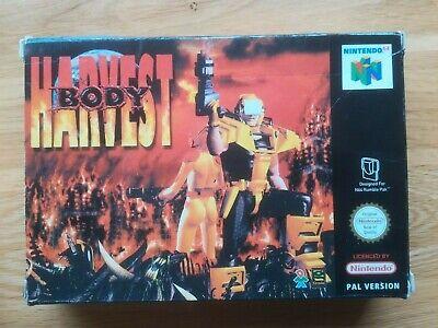 Nintendo 64 Boxed N64 - BODY HARVEST