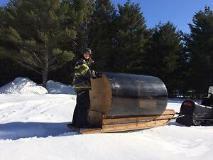 Home made sled - trailer - snow - ice fishing - 250$