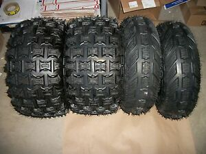 4-Front-Rear-6-Ply-ATV-Tires-21X7-10-20X11-9-Yamaha-Raptor-660-700-350