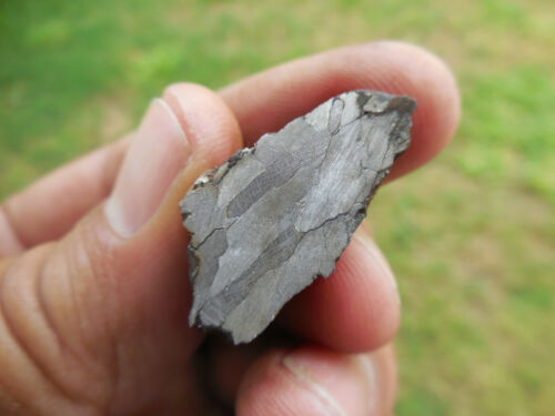 15.4 gram  - Lightly ETCHED CAMPO DEL CIELO Iron Meteorite - end cut