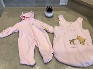 0-6 month bunting suit and car seat insert