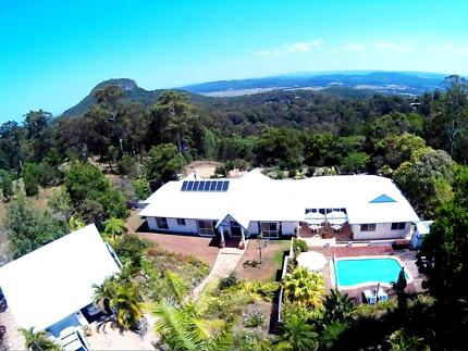 """B&B and Health Spa, on 5 Acres""""    Offers over $850 000 Welcome. Ninderry Maroochydore Area Preview"""