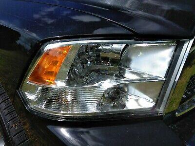2009-2018 Dodge Ram 1500 2500 3500 Factory Quad Style Headlights Headlamps 09-18