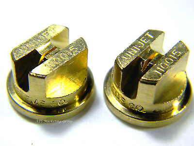 Carpet Cleaning  Quality Brass T-Jets 11001.5 for wands hoses