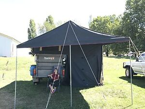 Camper trailer, evercool fridge, camping, fishing, hunting, motorbike Orange Orange Area Preview