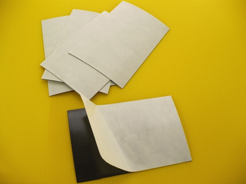 (25) 20 MIL 5x7 ADHESIVE MAGNET SHEETS MADE IN USA