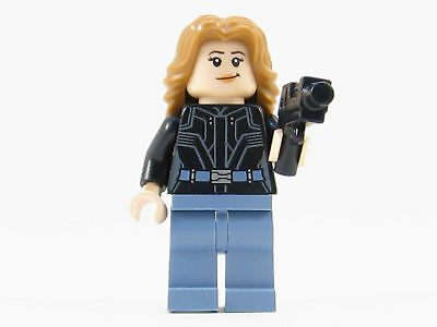 LEGO Marvel Super Heroes Agent 13 Minifigure Female Mini Fig Girl