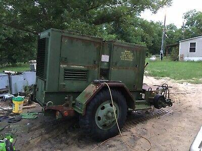 Mep-007b Trailer Mounted 100kw Generator 3 Phase 3306 Caterpillar Diesel