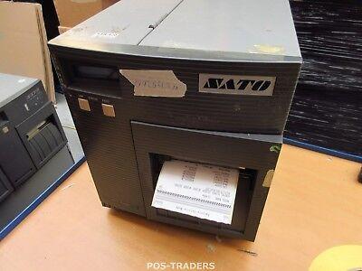 """SATO CL408E Parallel Thermo Label Drucker REWINDER 203dpi 4.1"""" 104mm - 89264.2 M"""