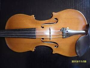 VINTAGE ITALIAN VIOLIN MADE BY PUGLISI REALE 1920'S Bexley Rockdale Area Preview