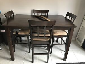 Pub Height Dining room Table