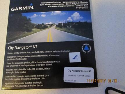 Garmin Navigator NT 2017 UK & Ireland Roi Maps SD Card