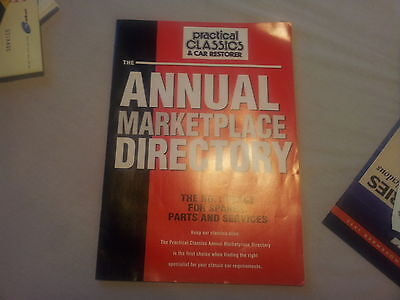 Practical Classics & Car Restorer Annual Market Place Directory Catalogue