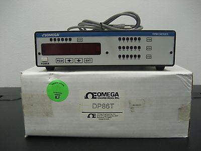 Omega Temperature Data Logger Dp86t New