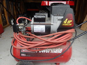 Coleman Powermate Air Compressor