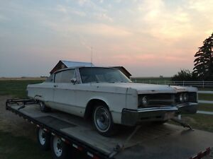 2 1967 Chrysler 300's