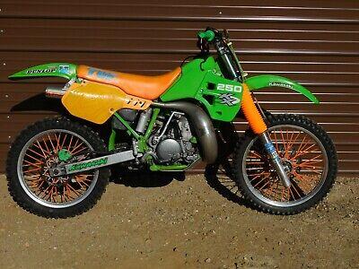 '89 Kawasaki KX250 KX 250 310 Vintage MX MotoCross Moto-X 46mm Forks Pro-Circuit