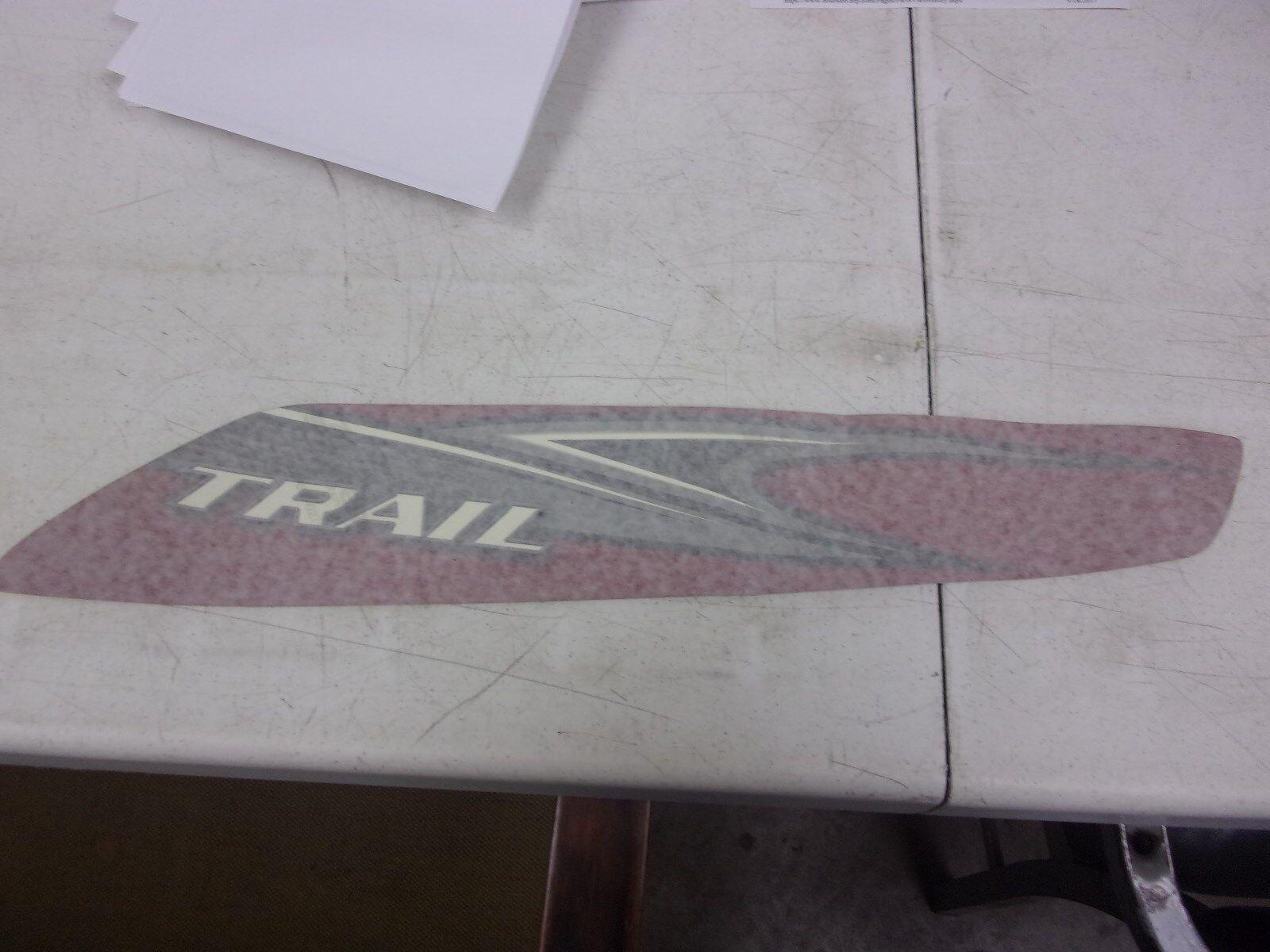 Polaris Snowmobile Decal Skirt Trail LH 7172955